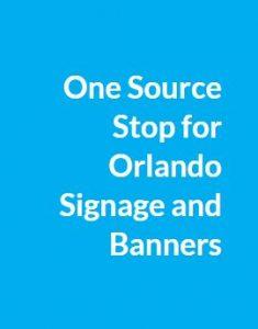 Orlando signage
