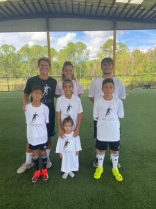 custom t-shirt store in Orlando for soccer